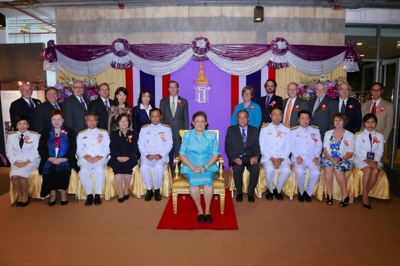 HRH Princess Sirindhorn group photo