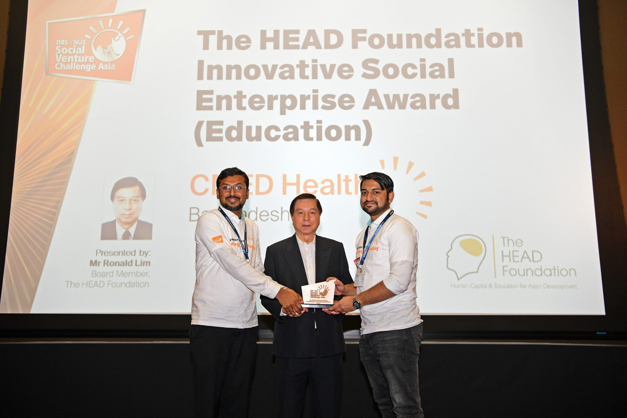 CMED Health – Prize Giving – Mr Lim 2