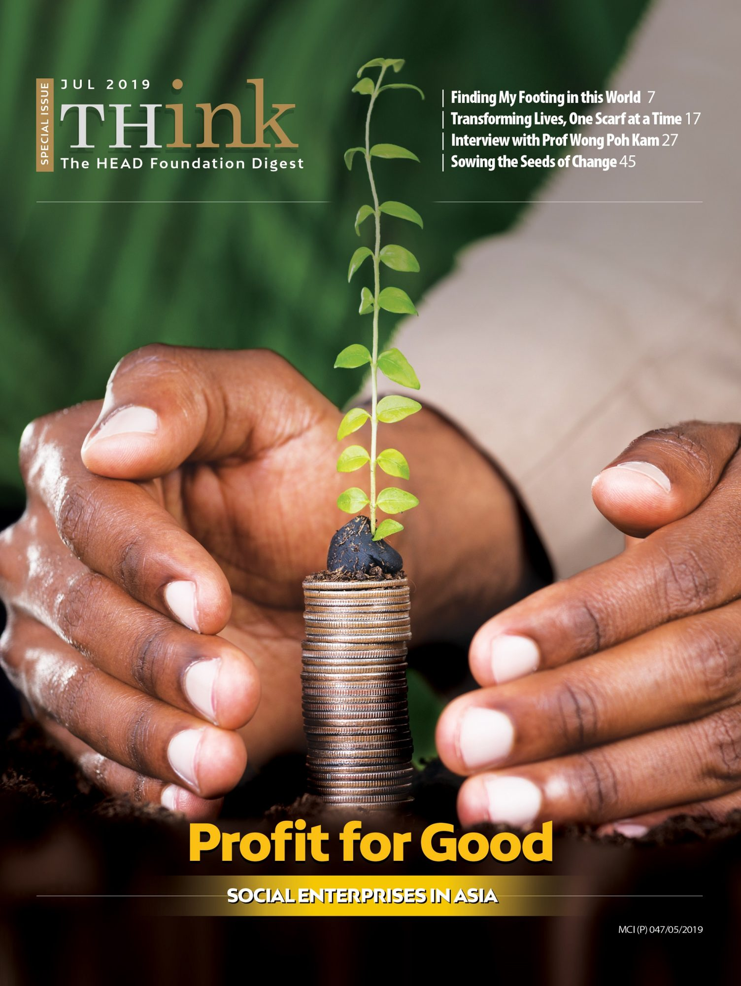 THink Digest Issue No. 5: Profit for Good (Special Issue)