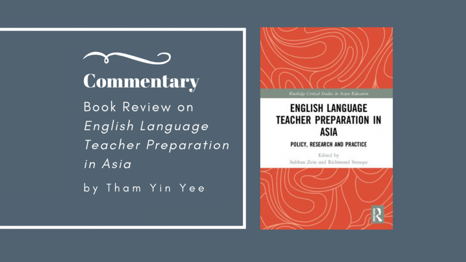 Book review - English Language Teacher Preparation in Asia