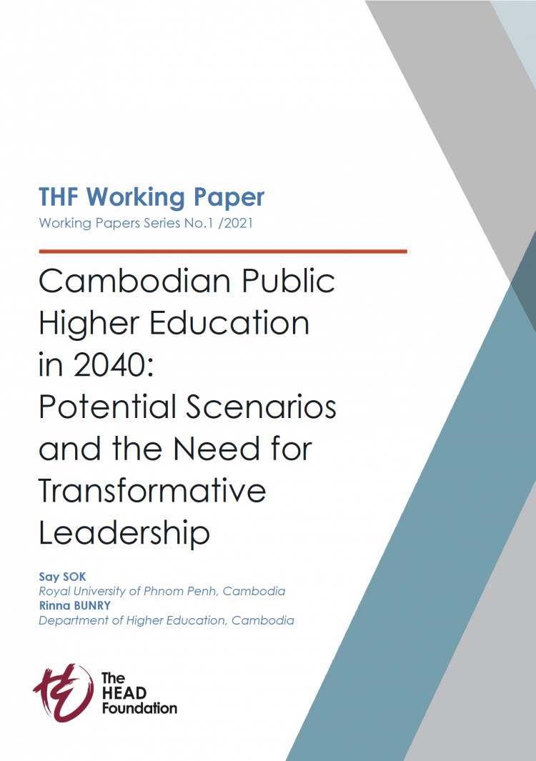 thf papers_2021_Cambodian Public Higher Education in 2040