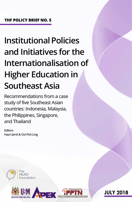 Policy Brief 5: Institutional Policies and Initiatives for the Internationalisation of Higher Education in Southeast Asia